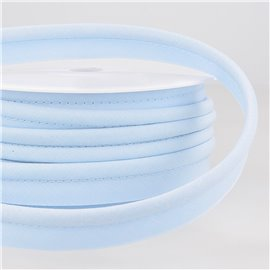 Passepoil mèche 5mm bleu clair au mètre
