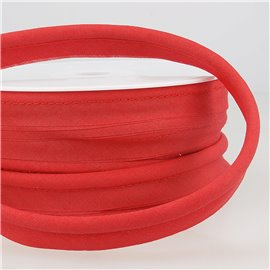 Passepoil mèche 5mm rouge au mètre