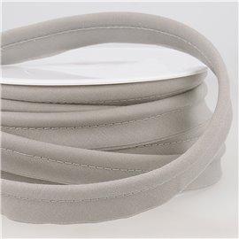 Passepoil mèche 5mm gris moyen au mètre