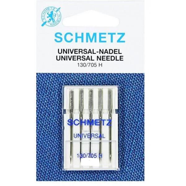 5 Aiguilles universelles Schmetz 130/705 H taille 7100