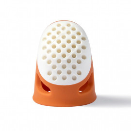 Dé à coudre taille S Prym ergonomic orange