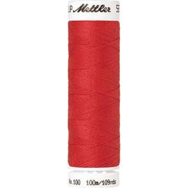 Fil à coudre polyester Mettler Amann 100m Seralon rouge