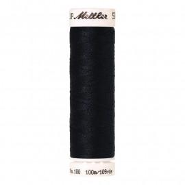 Fil à coudre polyester Mettler Amann 100m Seralon noir