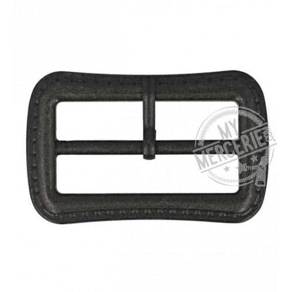 Boucle ceinture noire 30mm