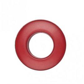 Oeillet plastique 25mm Rouge