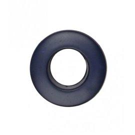 Oeillet plastique 25mm bleu marine