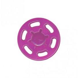 Bouton pression plastique 21mm Fuschia