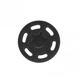 Bouton pression plastique 21mm noir