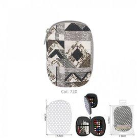 Pochette à couture 16x12cm patchwork