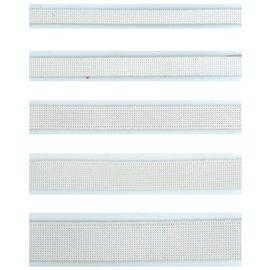 Bobine 200m Elastique souple polyester blanc 5mm
