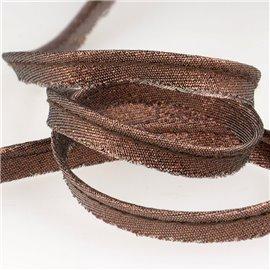 Bobine 25m Dépassant métallisé marron