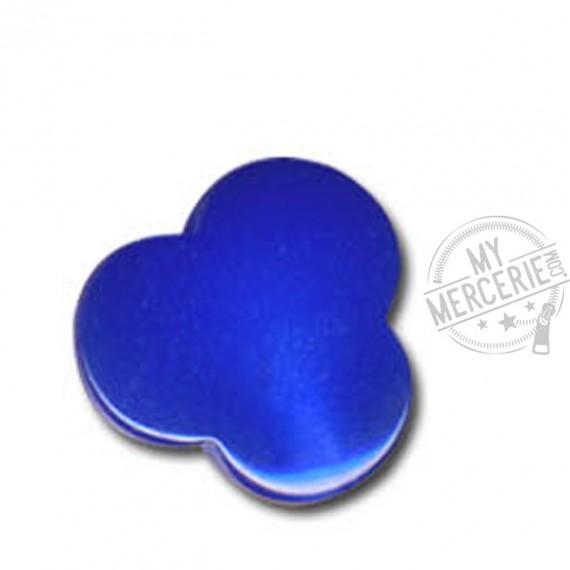 Bouton en forme de Nuage couleur Bleu