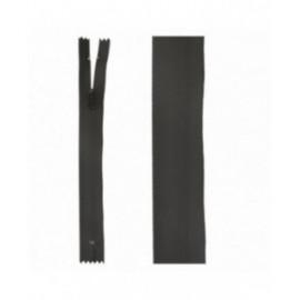 Fermeture invisible déperlante 20mm noir