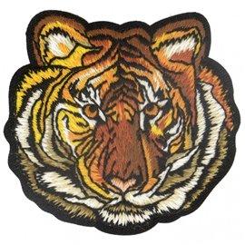 Ecusson thermocollant jungle tigre 6,5 cm x 6,5 cm