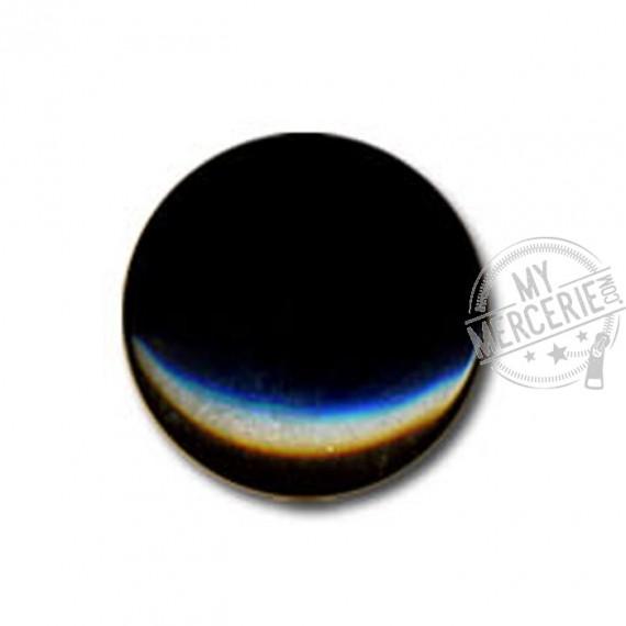 Bouton en forme de Bonbon couleur Noir