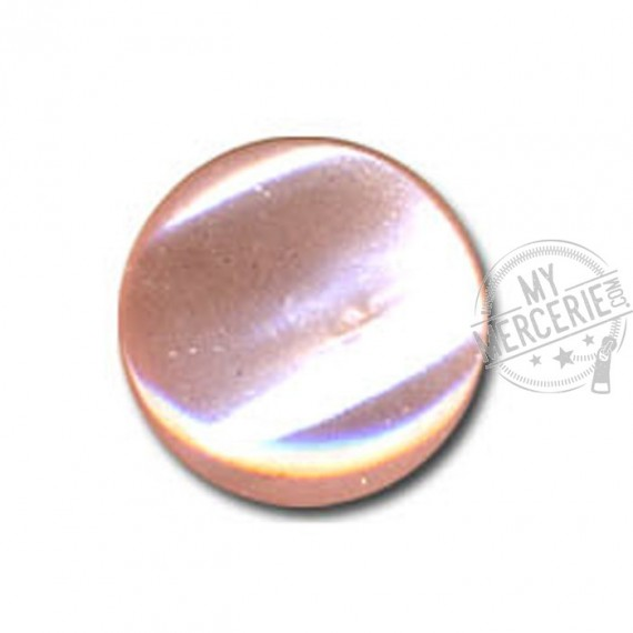 Bouton en forme de Bonbon couleur Rose Layette