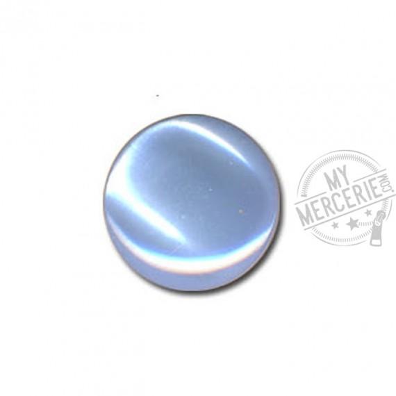 Bouton en forme de Bonbon couleur Bleu Layette