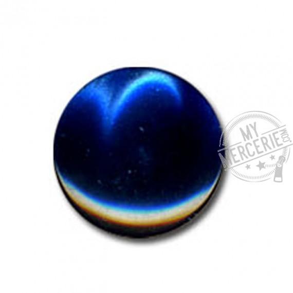 Bouton en forme de Bonbon couleur Marine