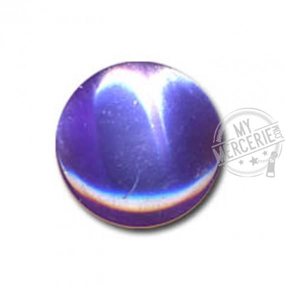 Bouton en forme de Bonbon couleur Mauve