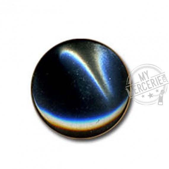 Bouton en forme de Bonbon couleur Anthracite