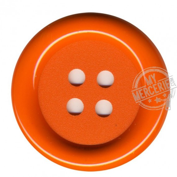 Bouton Clown couleur Orange