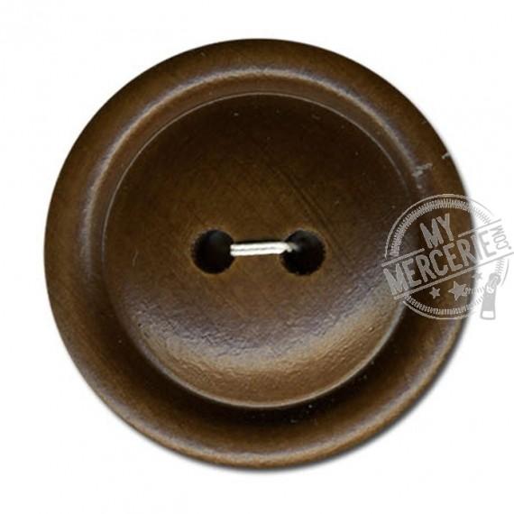 Bouton en bois couleur Marron Naturel