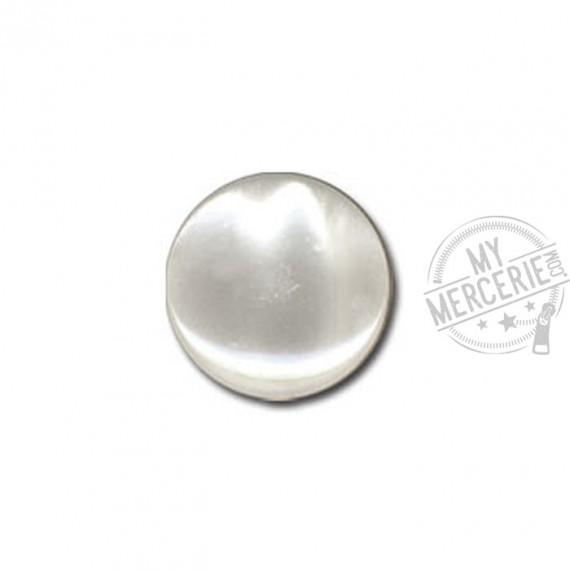Bouton en forme de Bonbon couleur Blanc