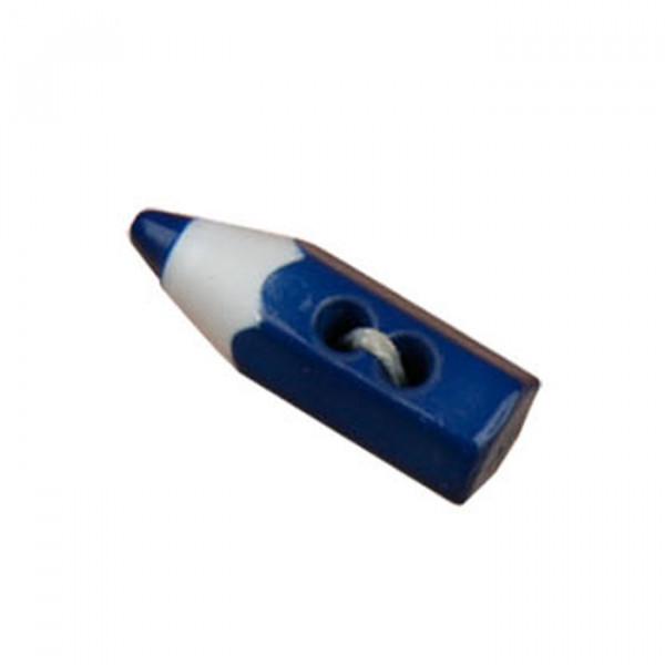 Bouton en forme de crayon de couleur Marine