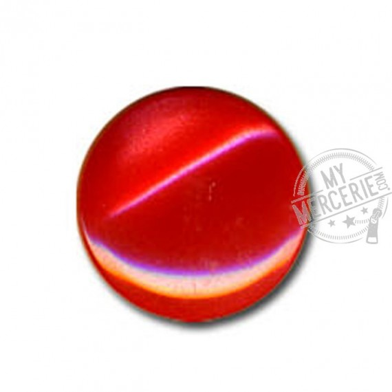 Bouton en forme de Bonbon couleur Rouge