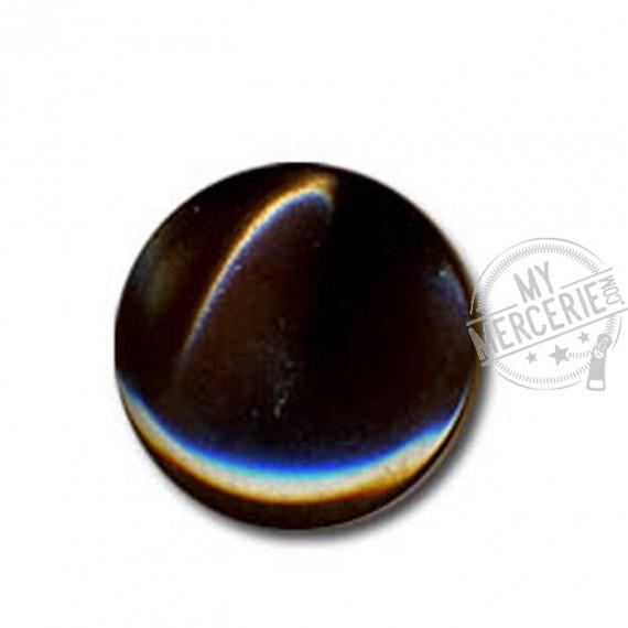 Bouton en forme de Bonbon couleur Marron
