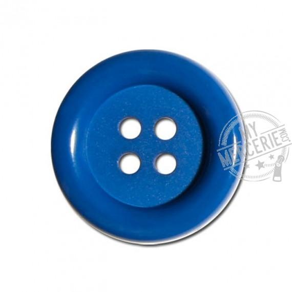 Bouton Clown couleur Bleu Roy