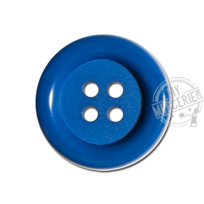 Bouton Clown couleur Bleu Roy