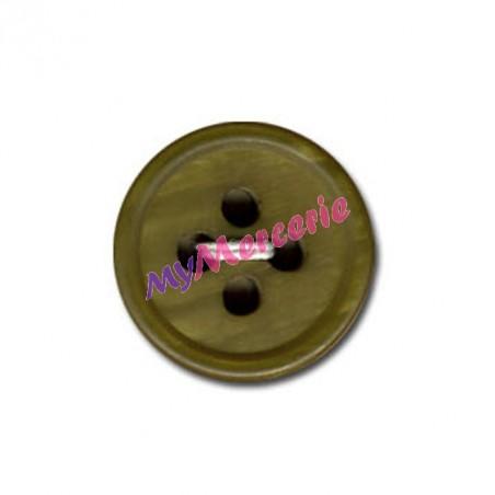 Lot de 6 boutons classique Montmartre couleur Tabac