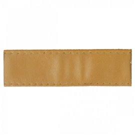 Disquette 15m sangle simili cuir 10mm Beige