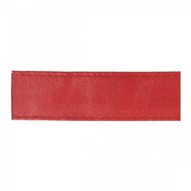Disquette 15m sangle simili cuir 10mm Rouge