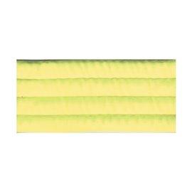 Bobine 10m sangle matelassée 35mm jaune fluo