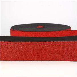 Film 20m Elastique métal 40mm Rouge