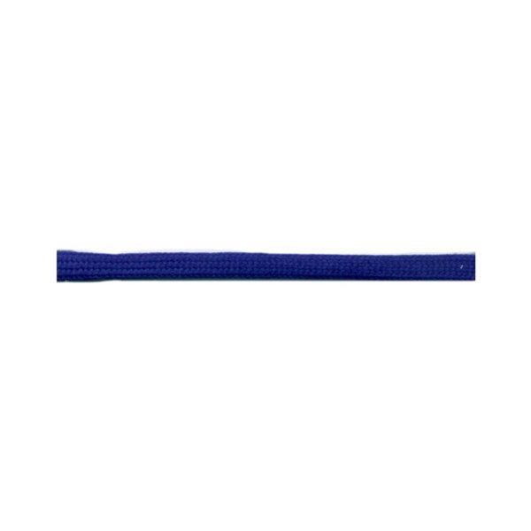Bobine 50m queue de rat tubulaire polyester 5mm Bleu roy