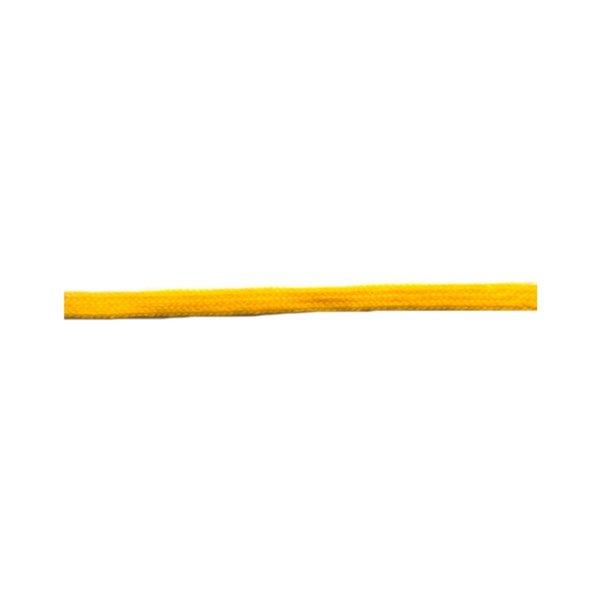 Bobine 50m queue de rat tubulaire polyester 5mm Jaune Or
