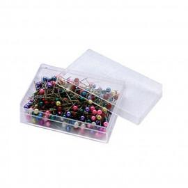 200 épingles tête de perles colorées
