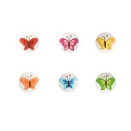 Bouton culot papillon